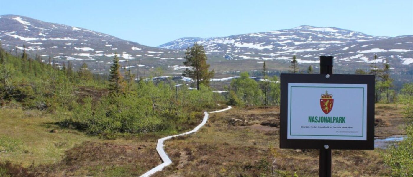 Nasjonalpark kommunen, Namsskogan.